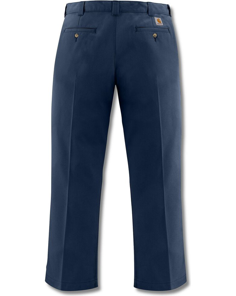 Carhartt Blended Twill Chino Work Pants, Navy, hi-res
