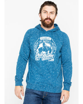 Dale Brisby Men's Logo Hooded Sweatshirt, Light Blue, hi-res