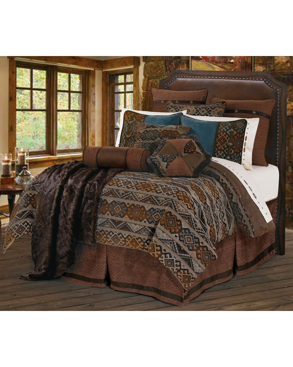 HiEnd Accents Rio Grande Queen Bedding Set, Multi, hi-res