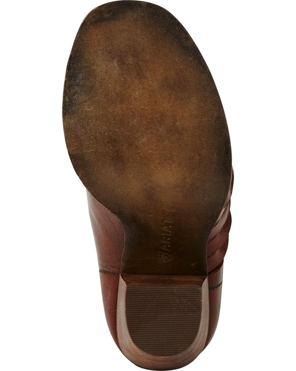 Ariat Women's Lindsley Heel Booties, Dark Brown, hi-res