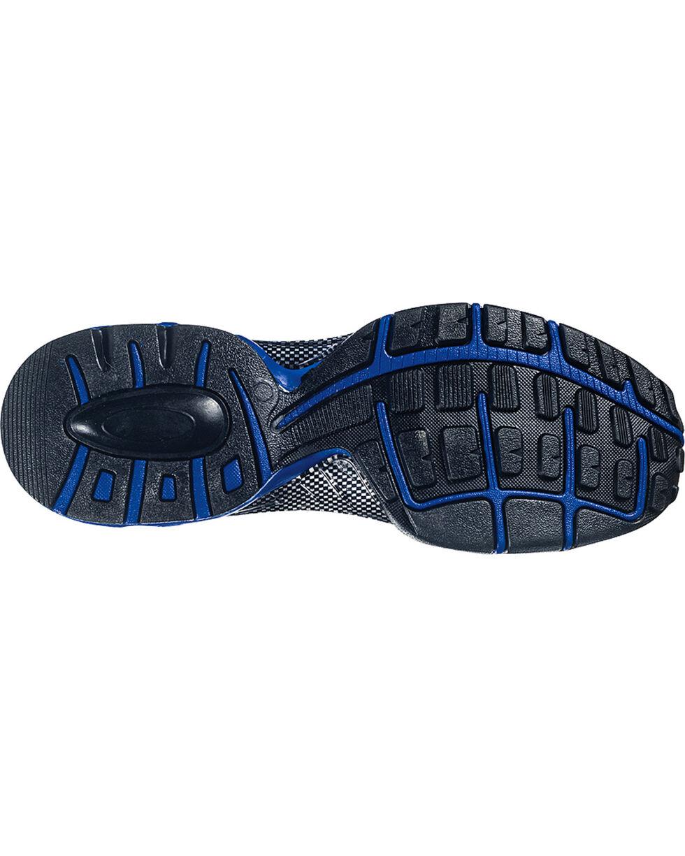 Nautilus Men's Black Nylon Microfiber Athletic Work Shoes - Composite Toe, Black, hi-res