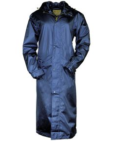 Outback Unisex Pak-A-Roo Duster Jacket, Navy, hi-res