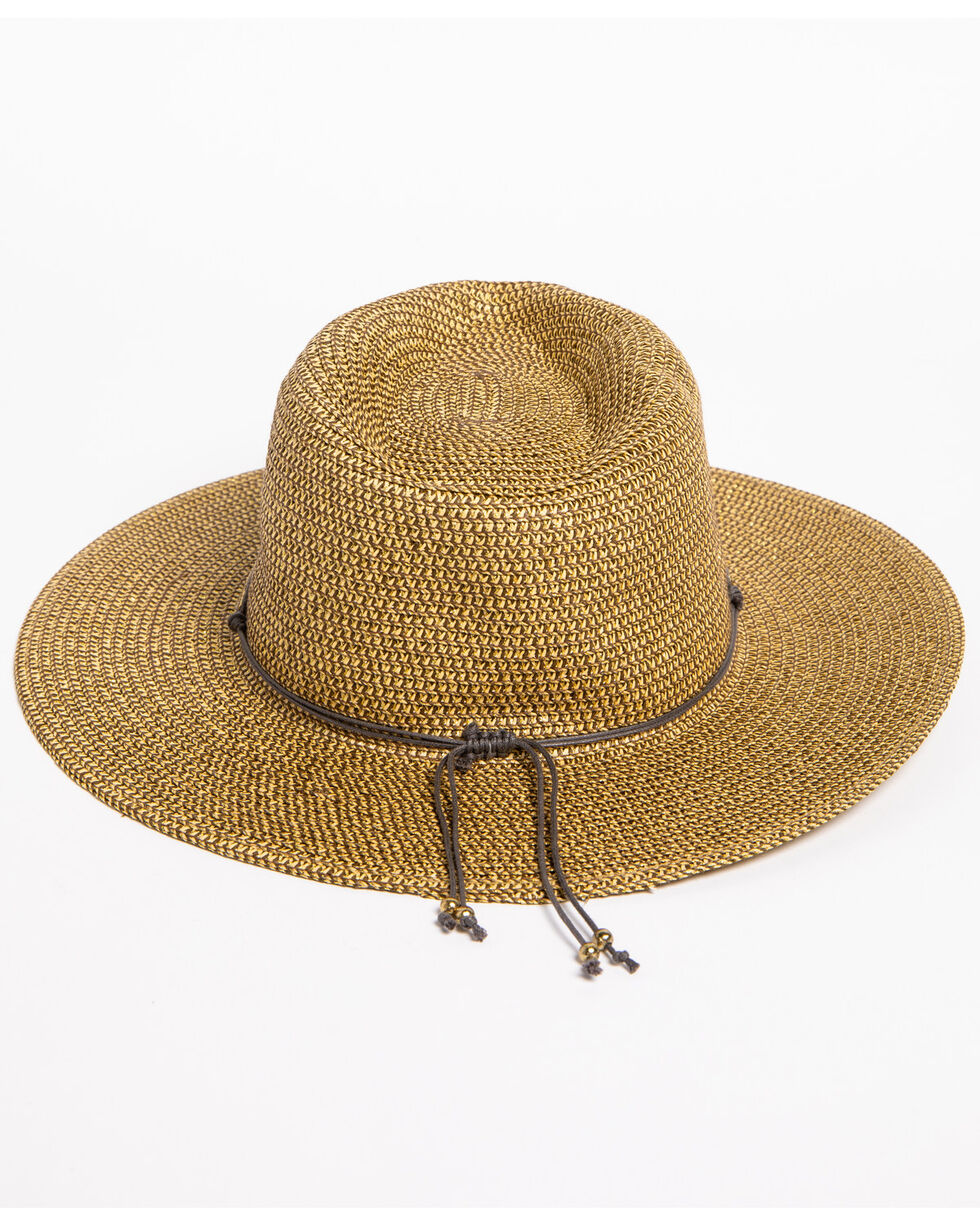 ále by Alessandra Women's Natural Kenzie Straw Hat , Natural, hi-res