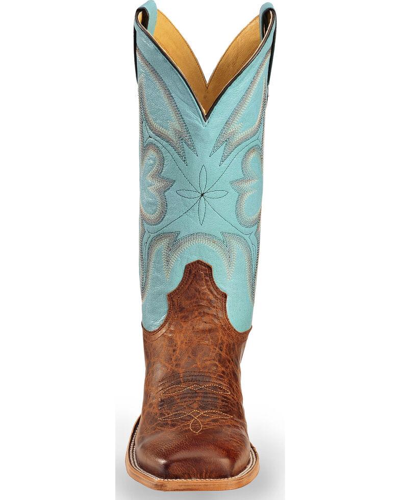 Tony Lama Men's Cabra Western Boots, Honey, hi-res