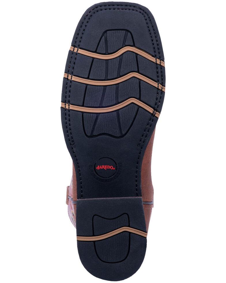 16d5afec495 Laredo Men's Edwards Western Work Boots - Steel Toe