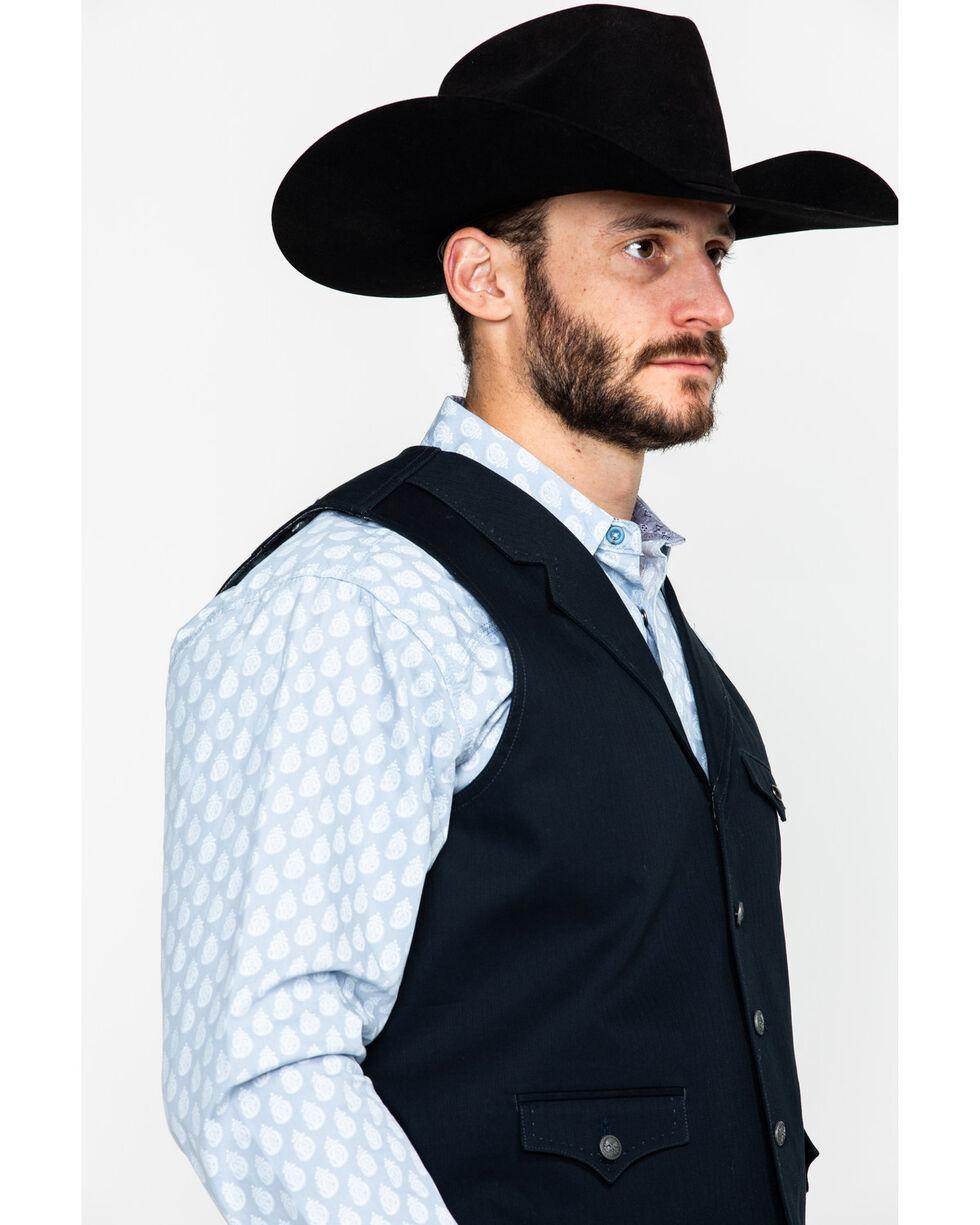 Moonshine Spirit Men's Gunsmoke Vest , Black, hi-res