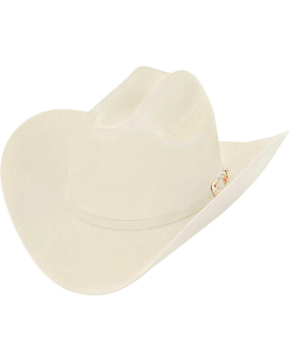 Larry Mahan 10X Tucson Fur Felt Cowboy Hat, Belly, hi-res