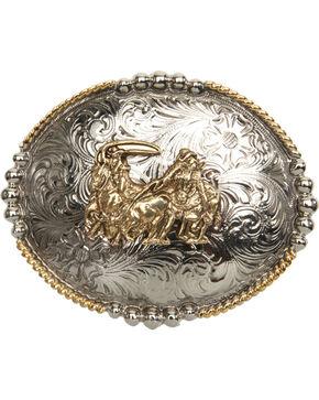 Cody James® Team Roper Belt Buckle, Multi, hi-res