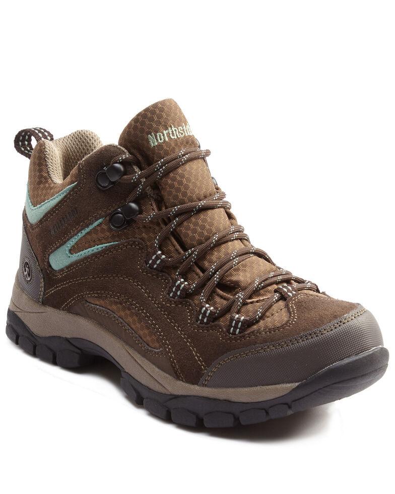 Northside Women's Pioneer Waterproof Hiking Boots - Soft Toe, Sage/brown, hi-res