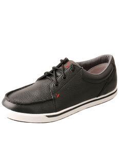 Twisted X Women's Softy Black Loper Shoes - Moc Toe, Black, hi-res