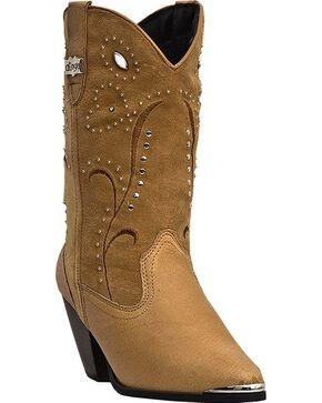 Dingo Women's Ava Western Boots, Chestnut, hi-res