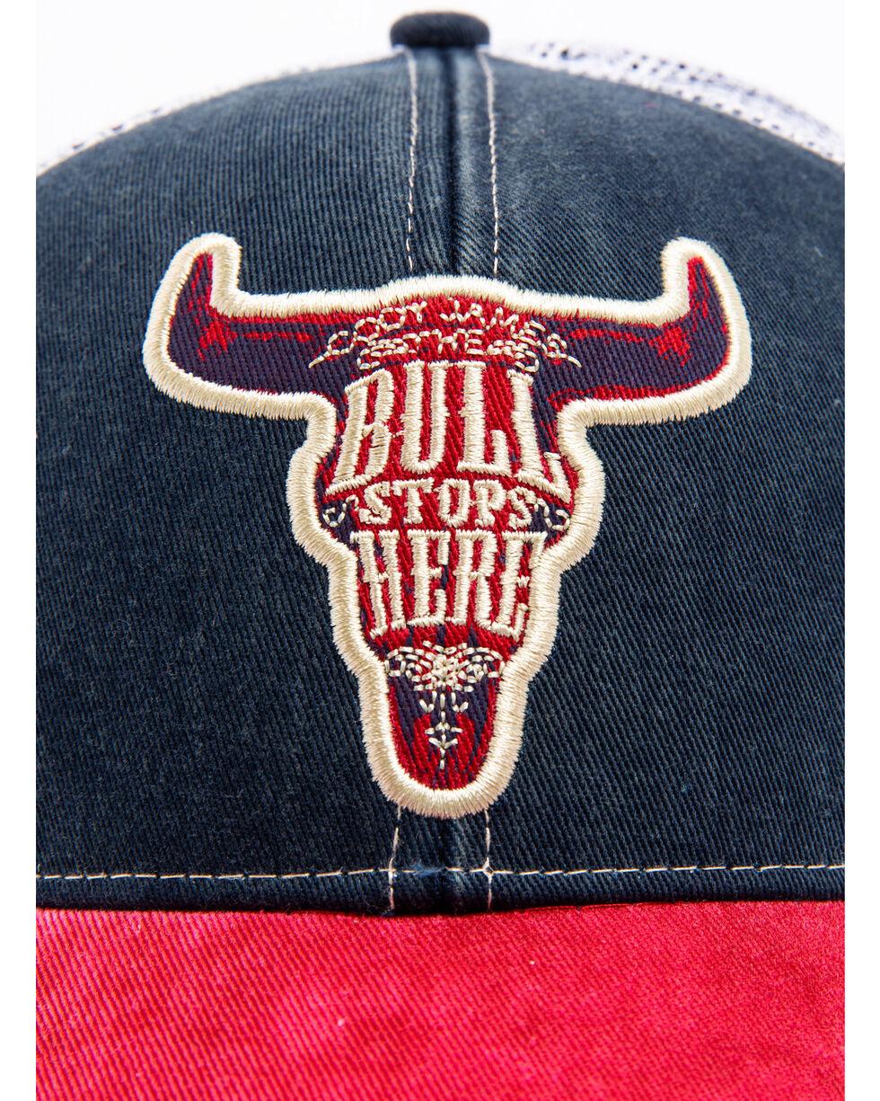 Cody James Men's Bull Stops Here, Navy, hi-res