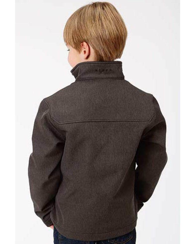 Roper Boys' Grey Hi Tech Fleece Zip Up Jacket , Grey, hi-res