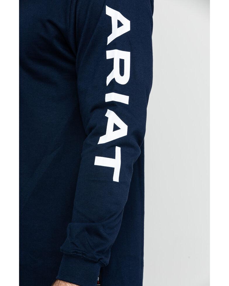 Ariat Men's FR Electric Graphic Long Sleeve Work T-Shirt - Big, , hi-res