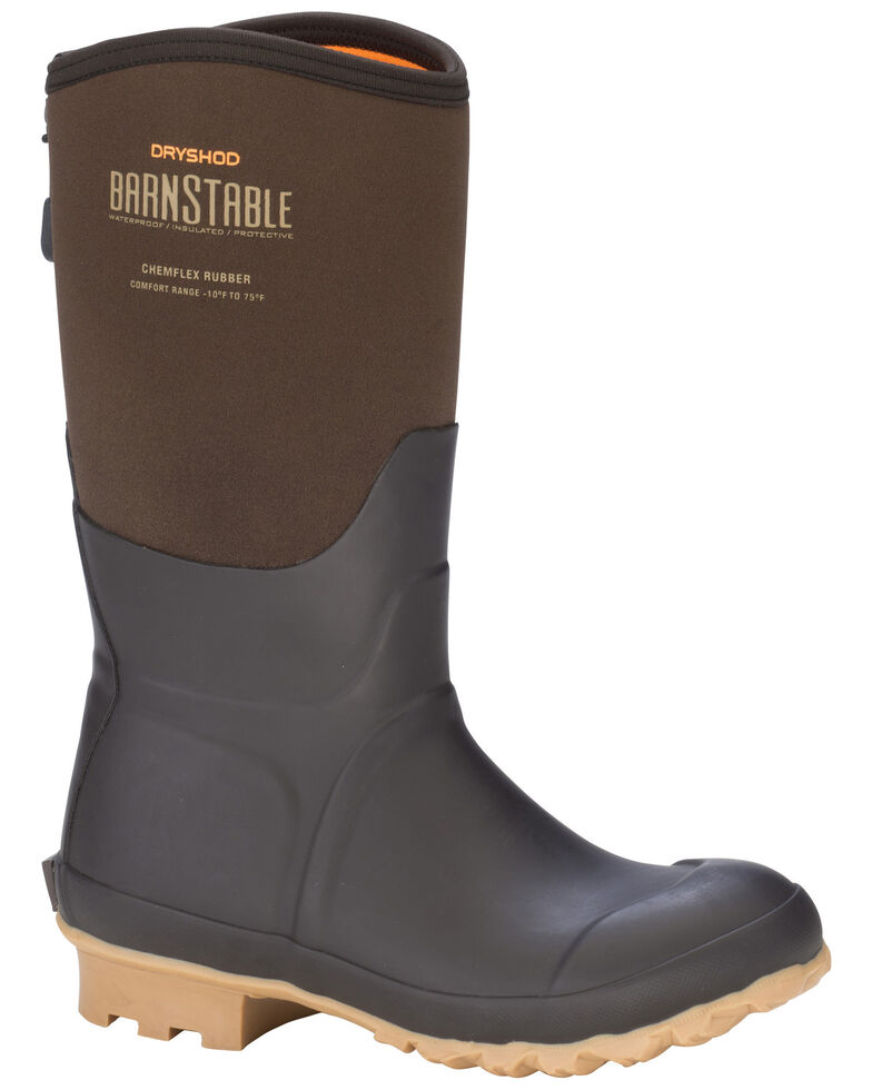 Dryshod Women's Barnstable All conditions Farm Boots, Brown, hi-res