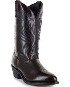 Cody James Men's Black Cherry Western Boots - Medium Toe , Black Cherry, hi-res