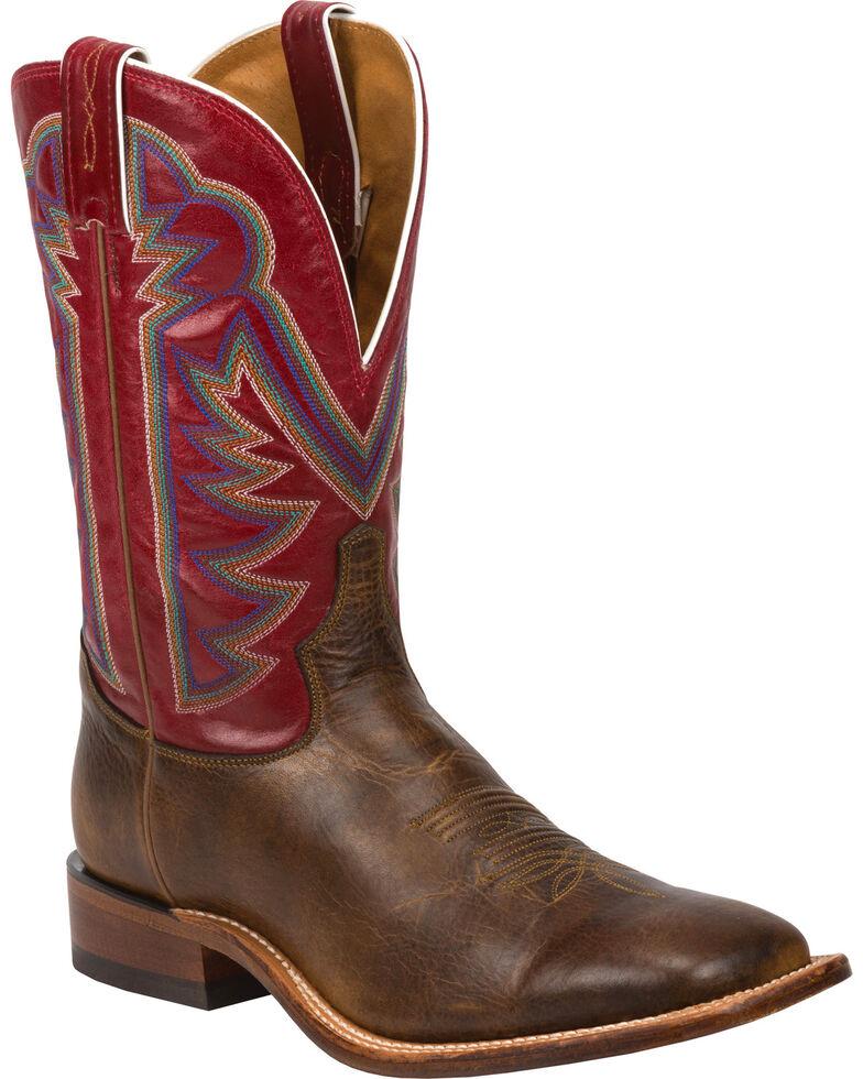 Tony Lama Men's Blaze Americana Western Boots, Tan, hi-res