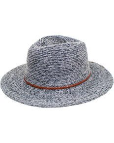 Peter Grimm Women's Dira Knit Fedora, Grey, hi-res