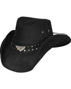 Bullhide Born To Ride Leather Hat 95184eddf7e1