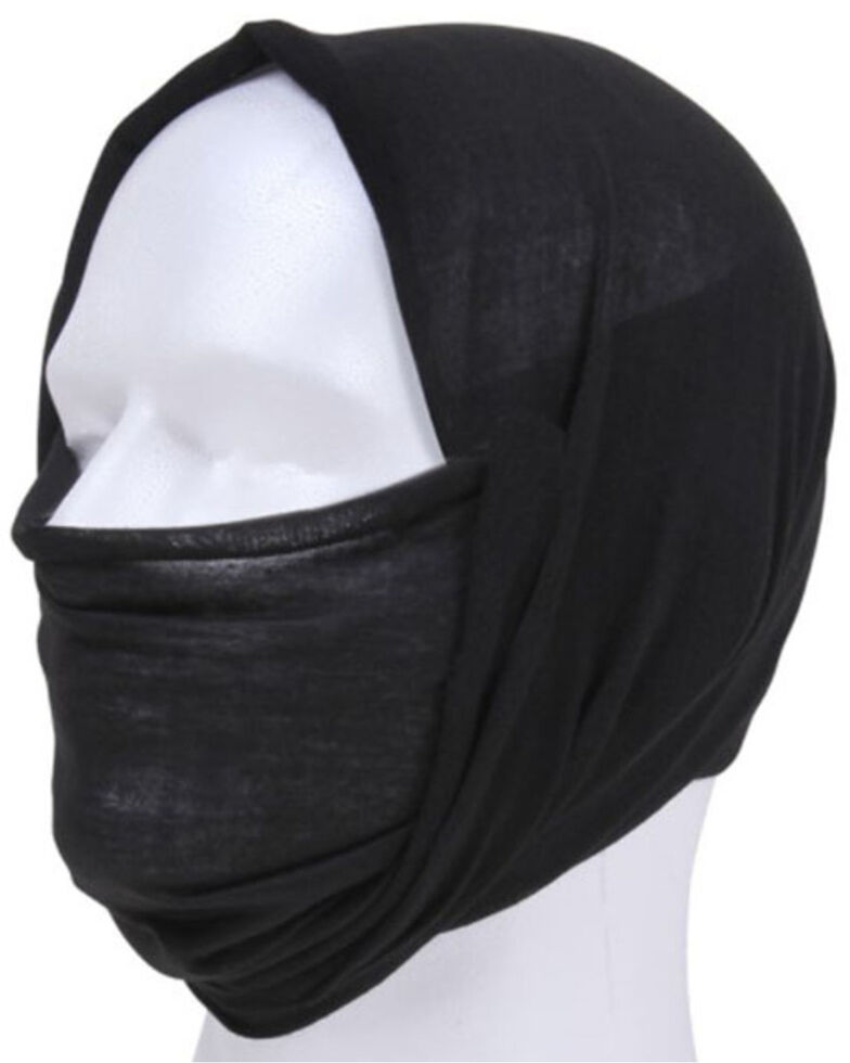 Rothco Black Multi-Use Work Tactical Wrap, Black, hi-res
