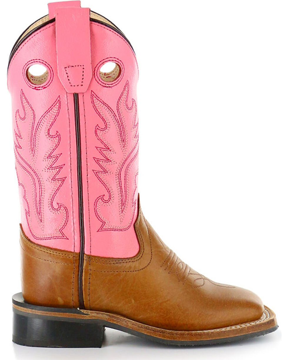 Cody James® Children's Square Toe Western Boots, Tan, hi-res
