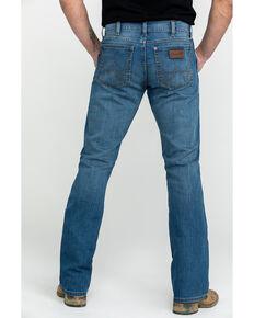 Wrangler Retro Men's Beasley Long Slim Boot Jeans , Blue, hi-res