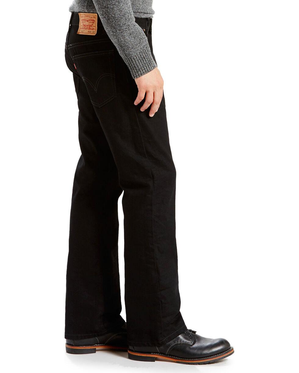 "Levi's Men's 517 Boot Cut Jeans - 44"" Waist, Black, hi-res"