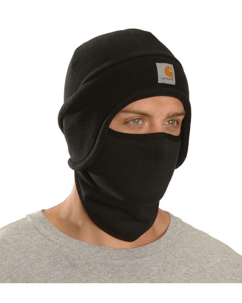 Carhartt Men's 2-in-1 Fleece Headwear, Black, hi-res