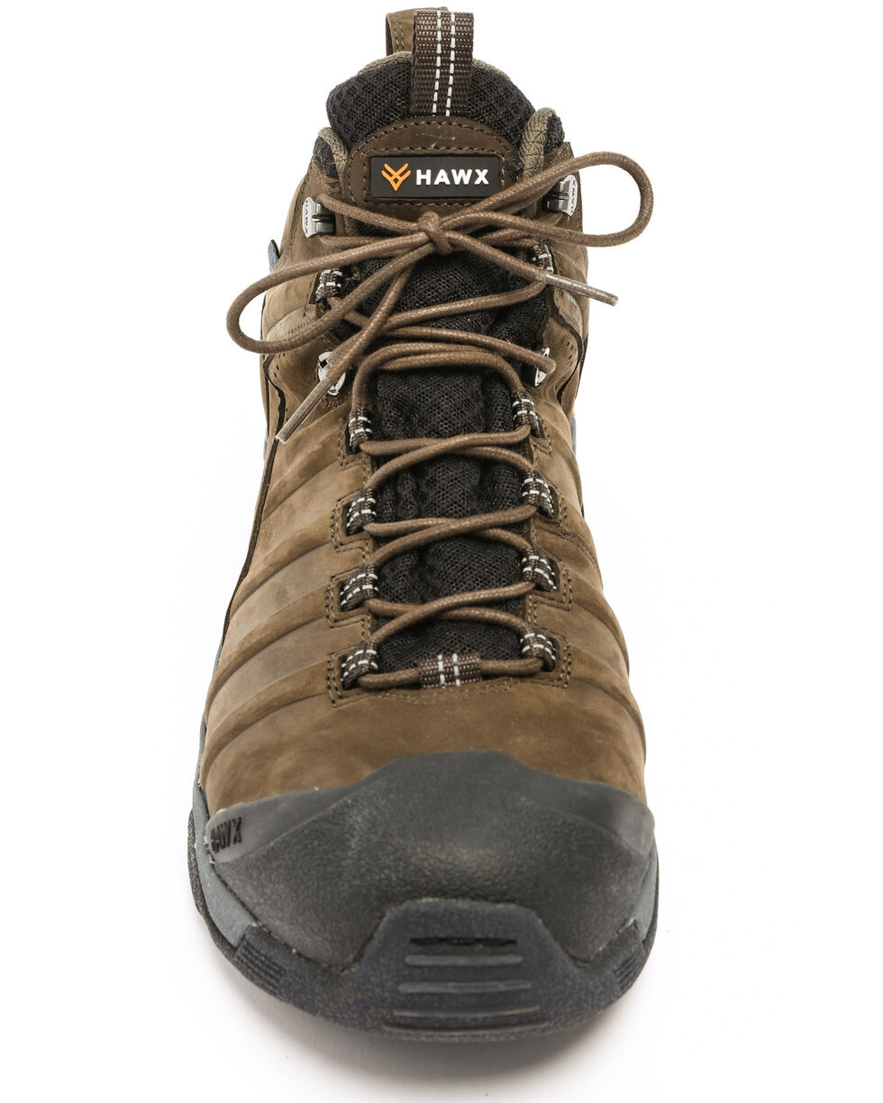 Hawx® Men's Axis Waterproof Hiker Boots - Round Toe, Moss Green, hi-res