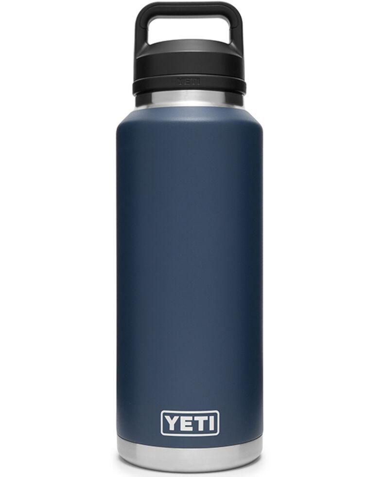 Yeti Navy Rambler 46oz Chug Cap Bottle, Navy, hi-res