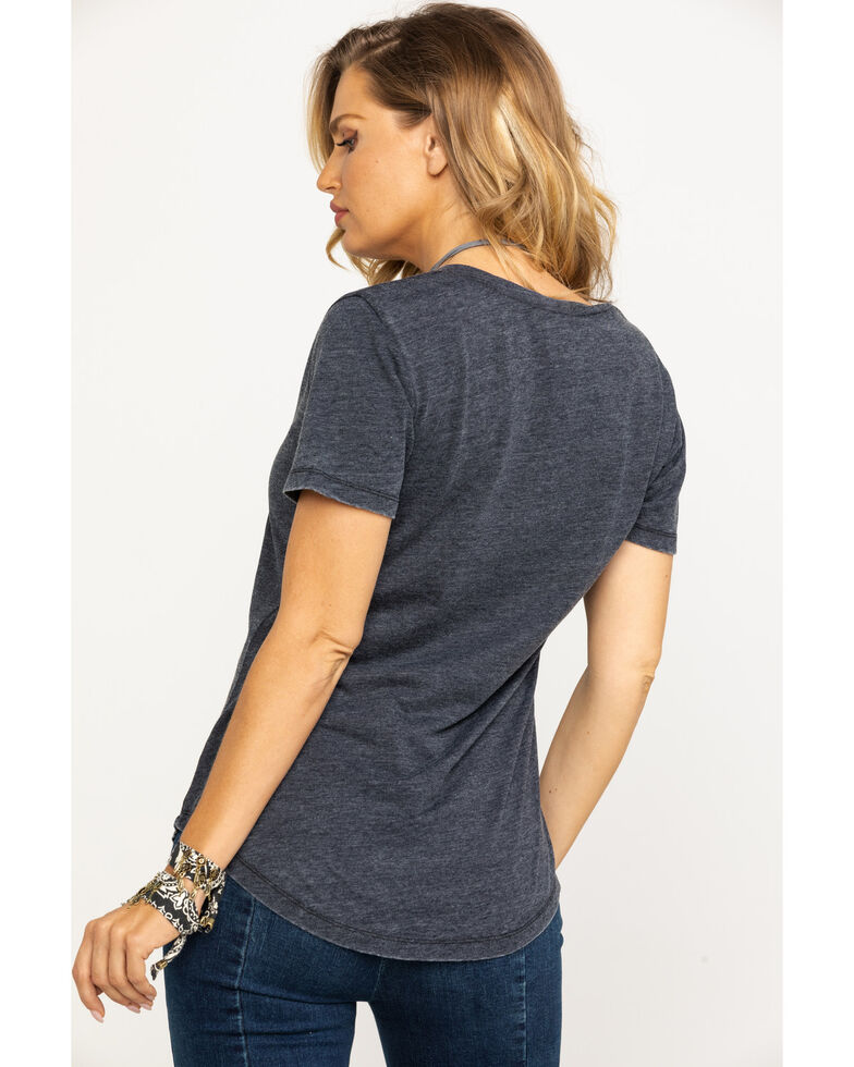 White Crow Women's Southern As It Gets Tee, Charcoal, hi-res