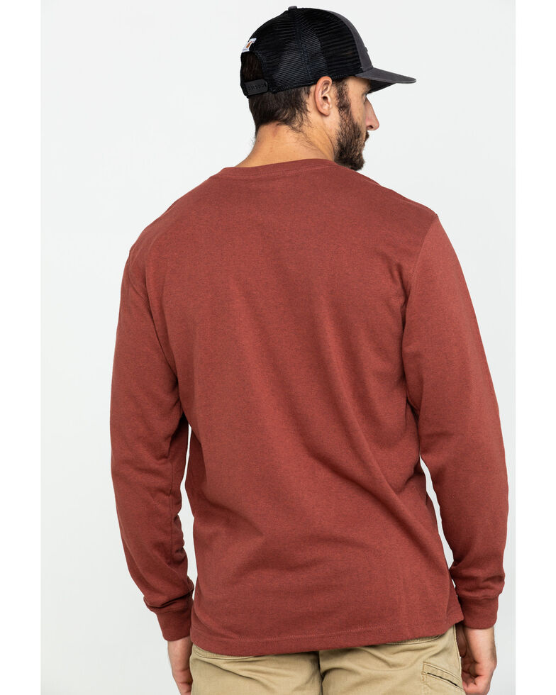 Carhartt Pocket Work Tee, Heather Red, hi-res
