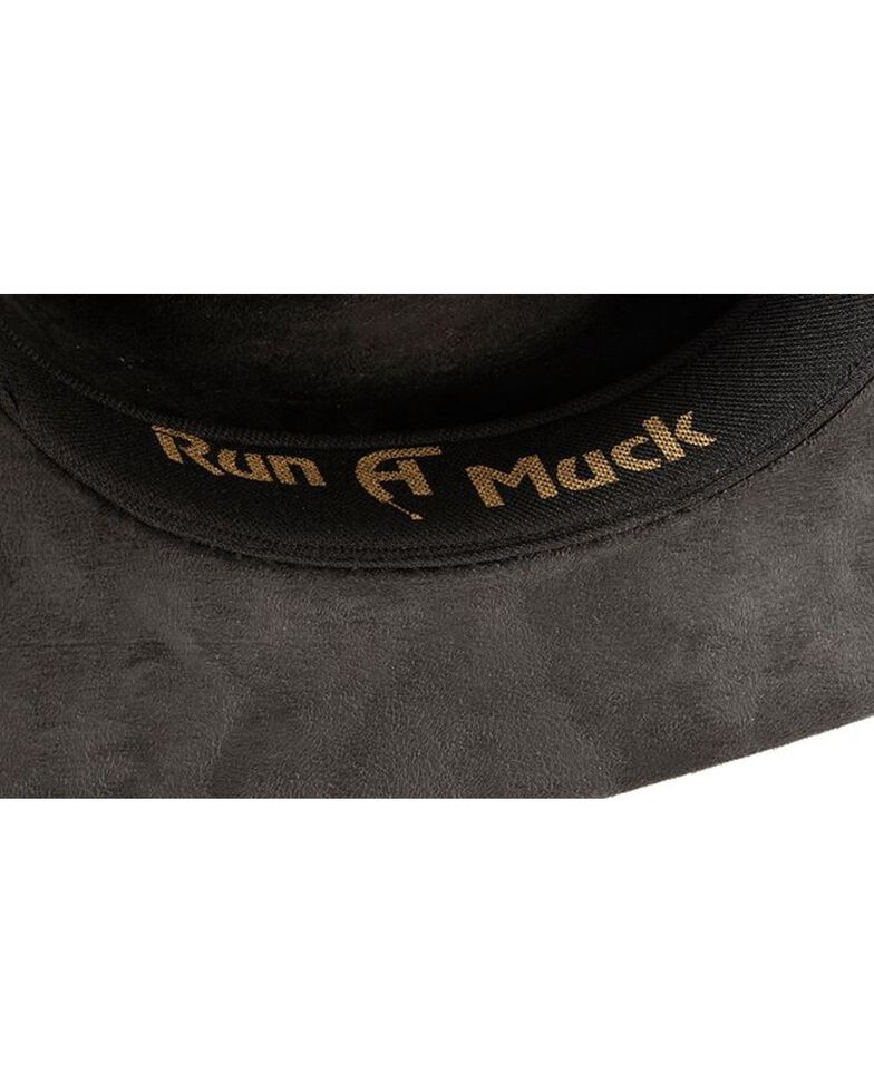 Bullhide Women's Straight Shooter Faux Felt Hat, Black, hi-res