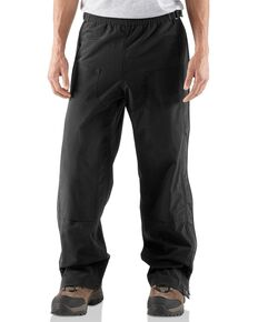 Carhartt Men's Shoreline Work Pants - Tall, Black, hi-res