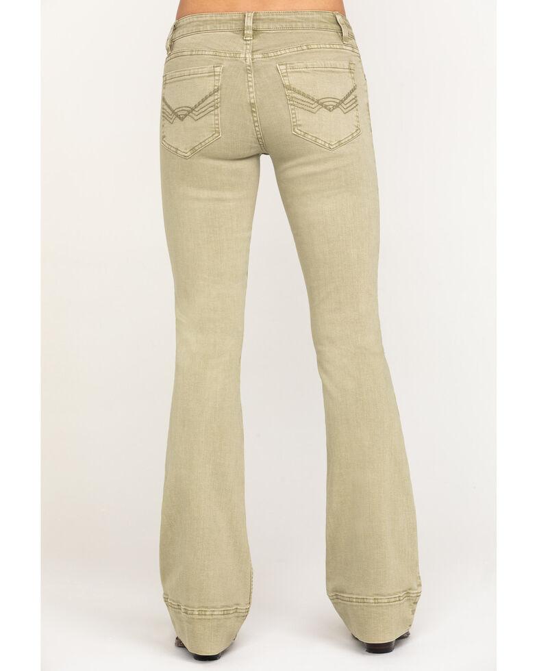 Idyllwind Women's Sage Love Sick Flare Jeans, Sage, hi-res