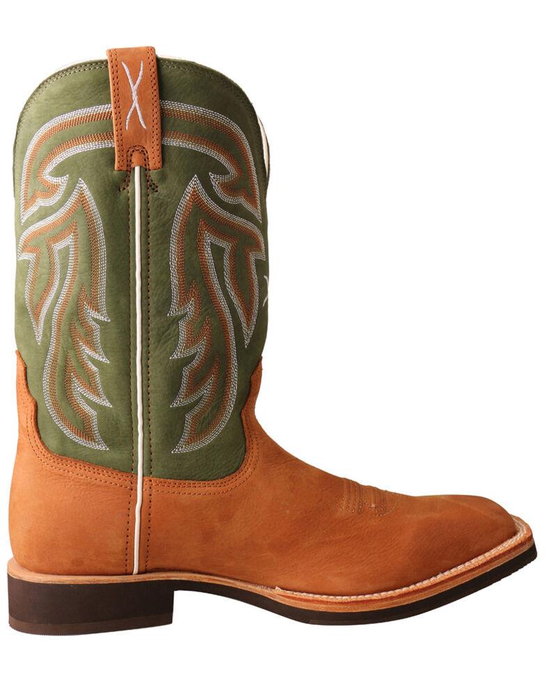 Twisted X Men's Horseman Western Boots - Wide Square Toe, Tan, hi-res