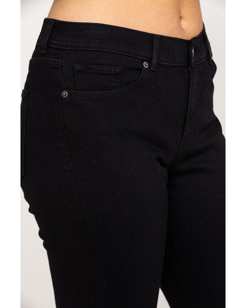 Levi's Women's Classic Straight Fit Jeans, Black, hi-res