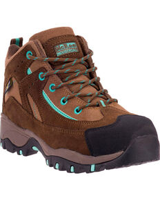 McRae Women's Poron XRD Met Guard Hiker Boots - Composite Toe, Brown, hi-res