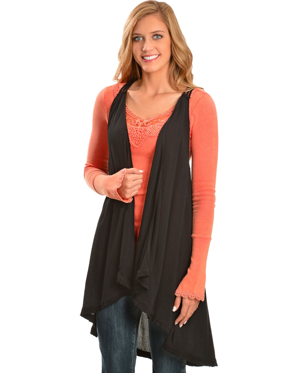 Others Follow Women's Moonstruck Vest, Black, hi-res