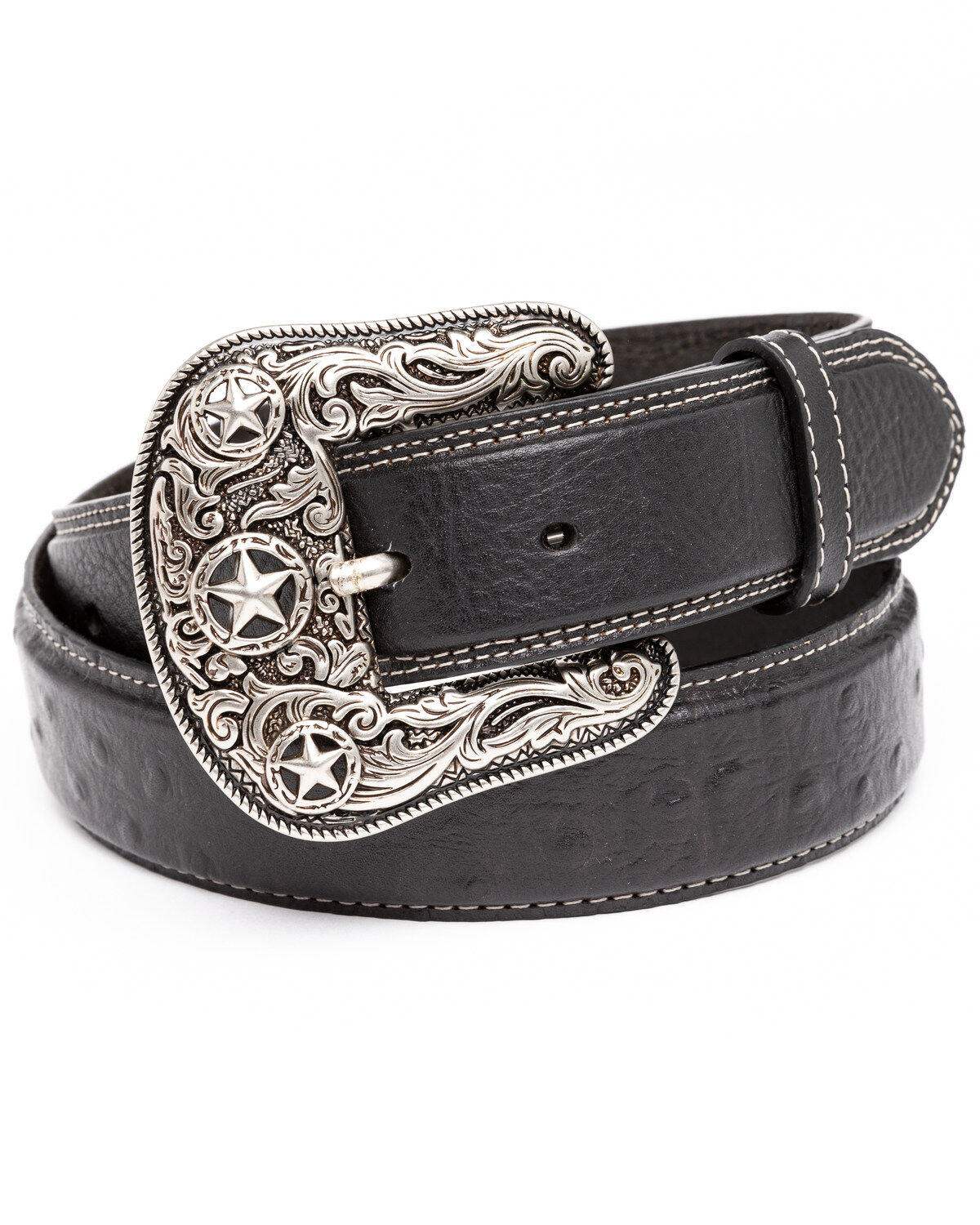 Unisex Cowboy Style Multi-Colour Bullets Black Belt Available in a Selection of sizes