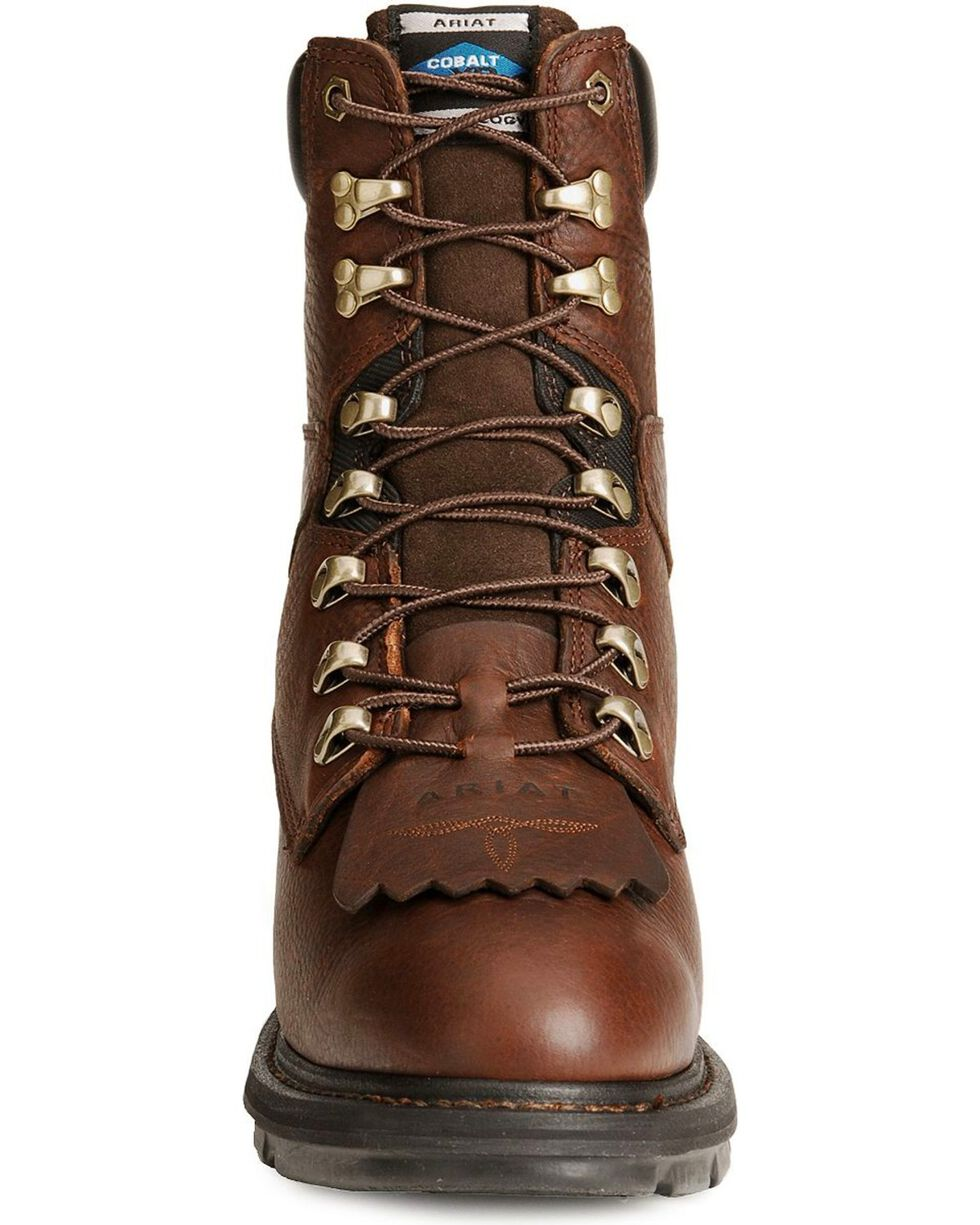 Ariat Men's Hermosa Steel Toe Work Boots, Redwood, hi-res