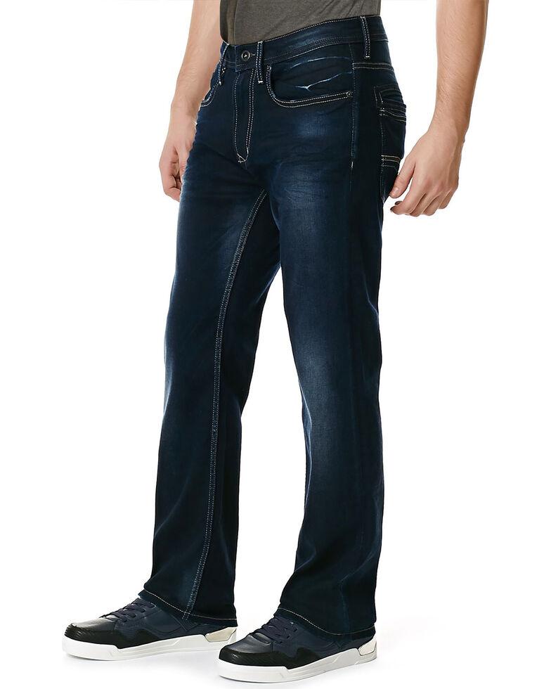 Buffalo Men's Game-X Slim Bootcut Jeans, Denim, hi-res