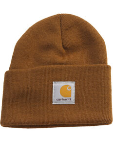Carhartt Acrylic Stocking Cap, Brown, hi-res