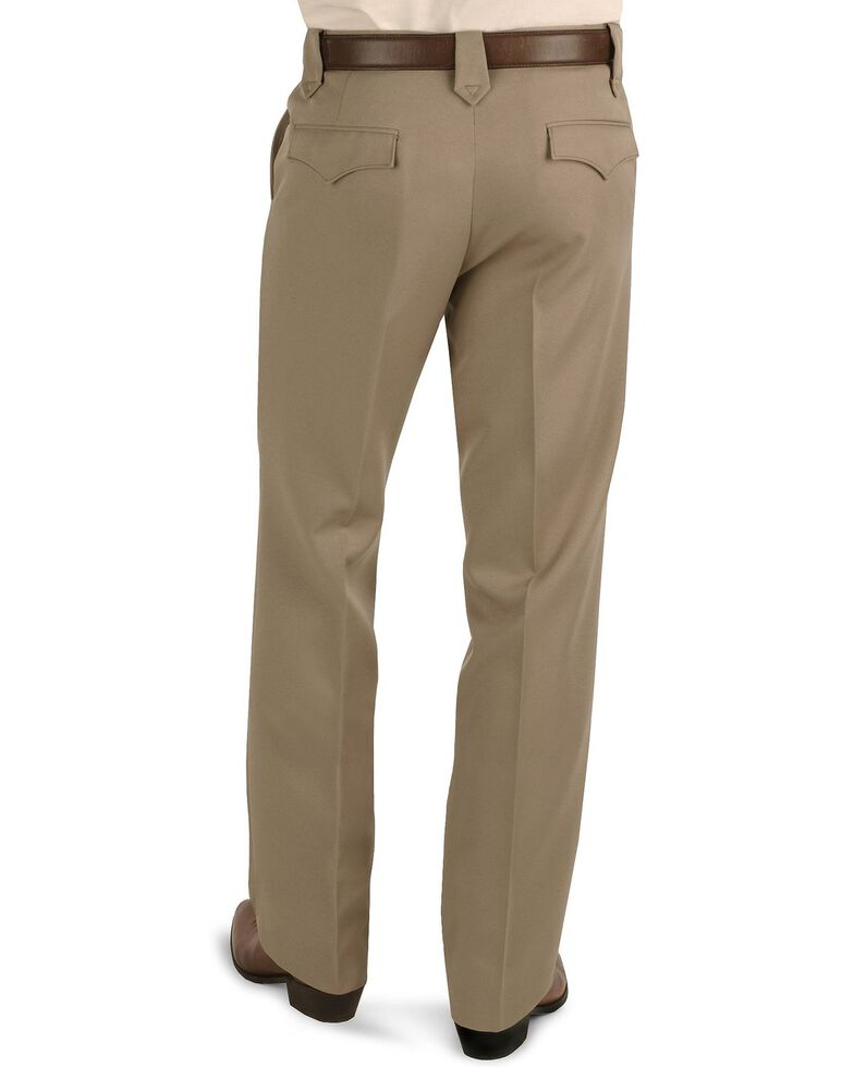 "Circle S Xpand Expandable Waistline Pants - Big - Up to 50"" Waist, Taupe, hi-res"