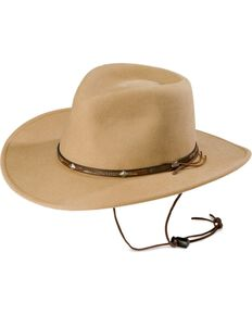 Stetson Mountain View Wool Hat, Sand, hi-res