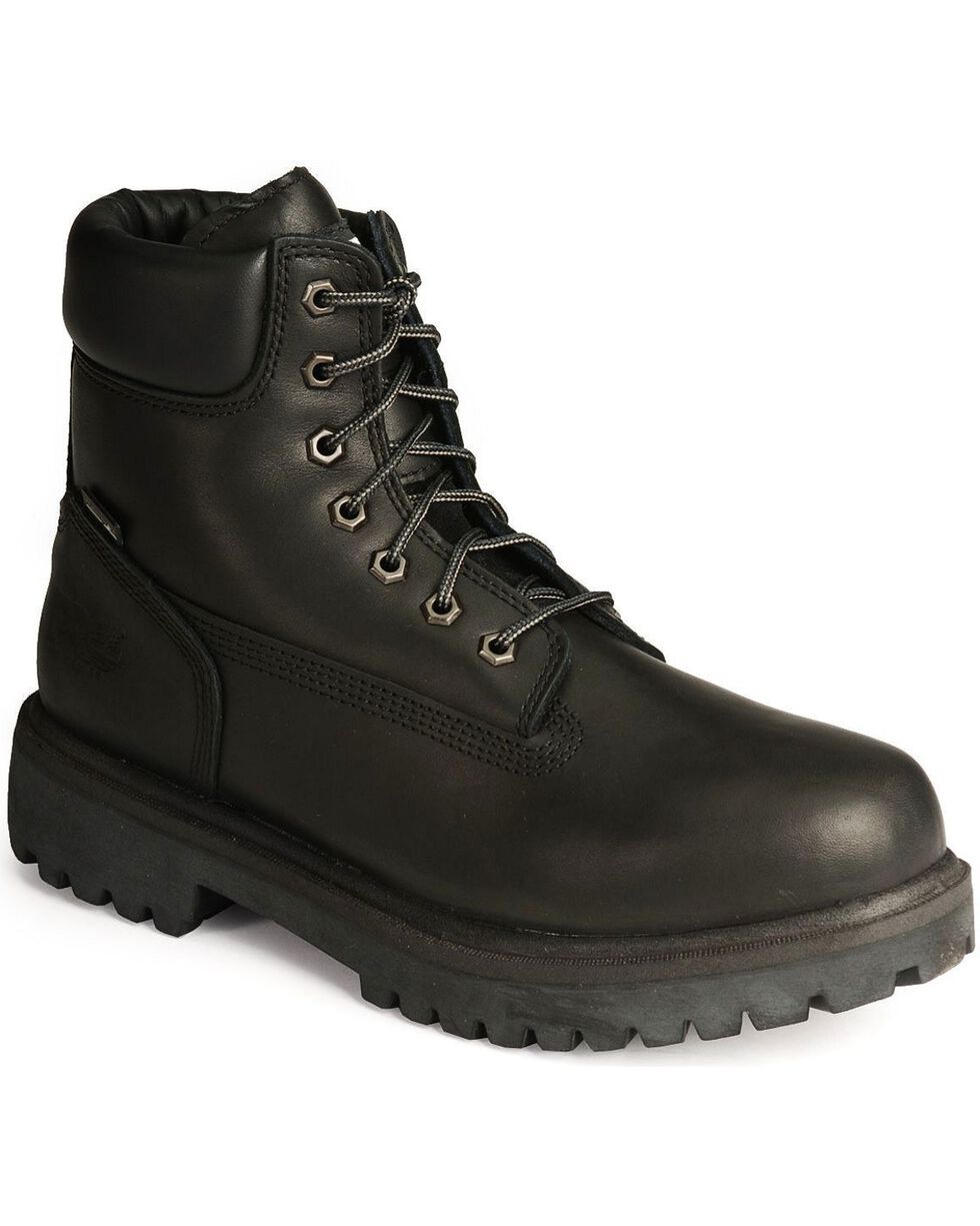 "Timberland Pro Men's 6"" Insulated Waterproof Work Boots, Black, hi-res"