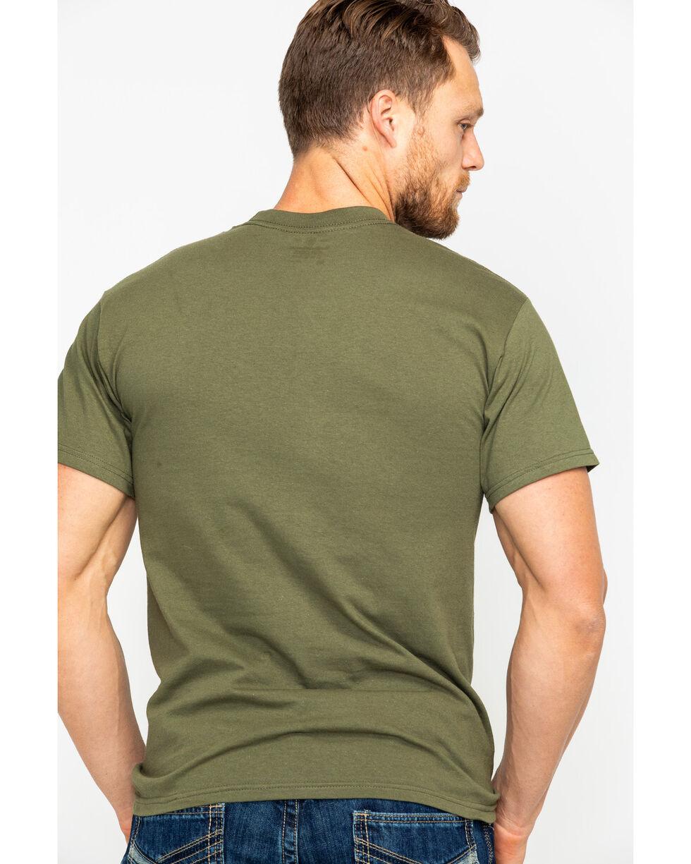 Smith & Wesson Men's Tech Rev Digital Camo Logo T-Shirt , Camouflage, hi-res