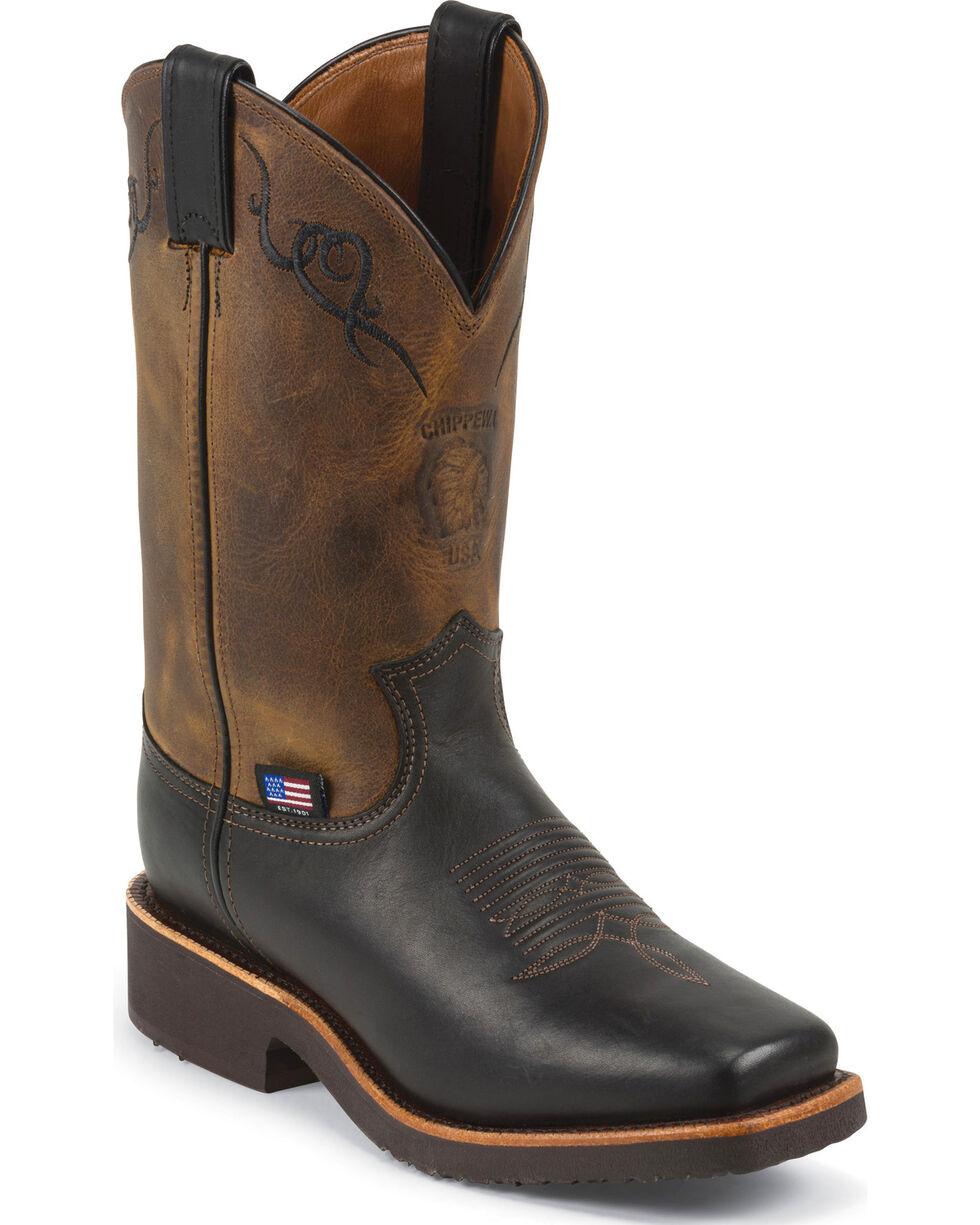 Chippewa Women's  Odessa Western Work Boots, Black, hi-res
