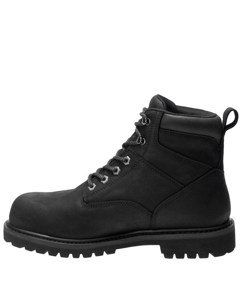 Harley Davidson Men's Gavern Waterproof Work Boots - Soft Toe, Black, hi-res
