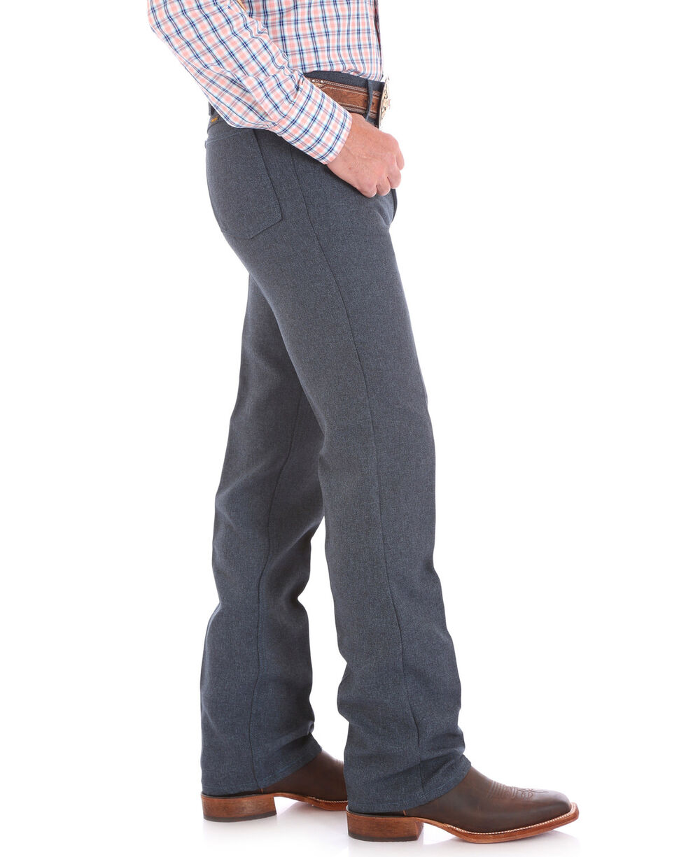 Wrangler Wrancher Dress Jeans - Big, Blue, hi-res